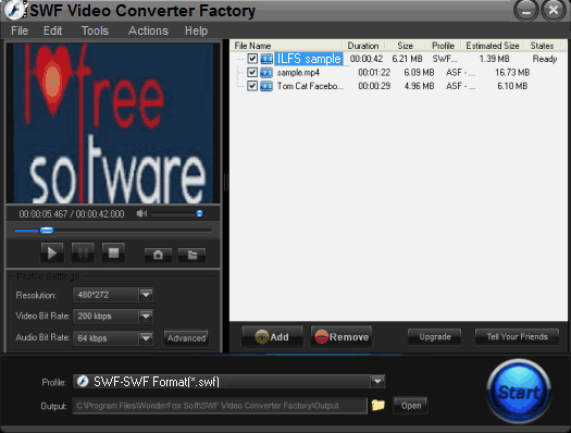 Flash Converter - SWF Video Converter Factory