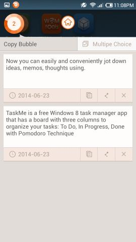 Free Clipboard Manager for Android Copy Bubble For Android