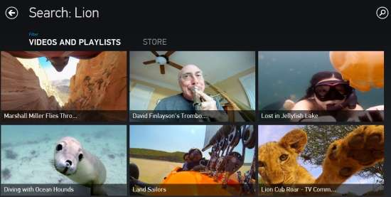 GoPro Channel-Search