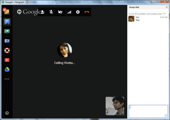 Google Hangout Web Conferencing Software