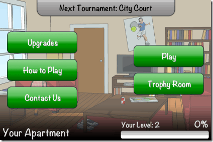 Hit Tennis 3 Home Page