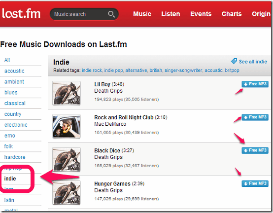 7 Websites To Download Free Indie Music as MP3