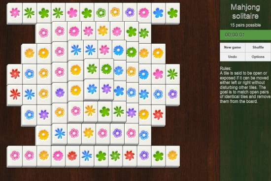 Mahjong Solitaire-Game