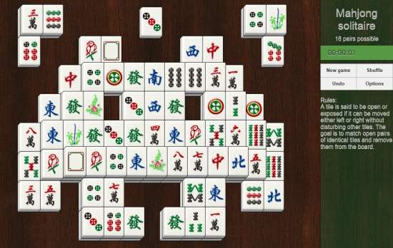 Mahjong Solitaire-Home