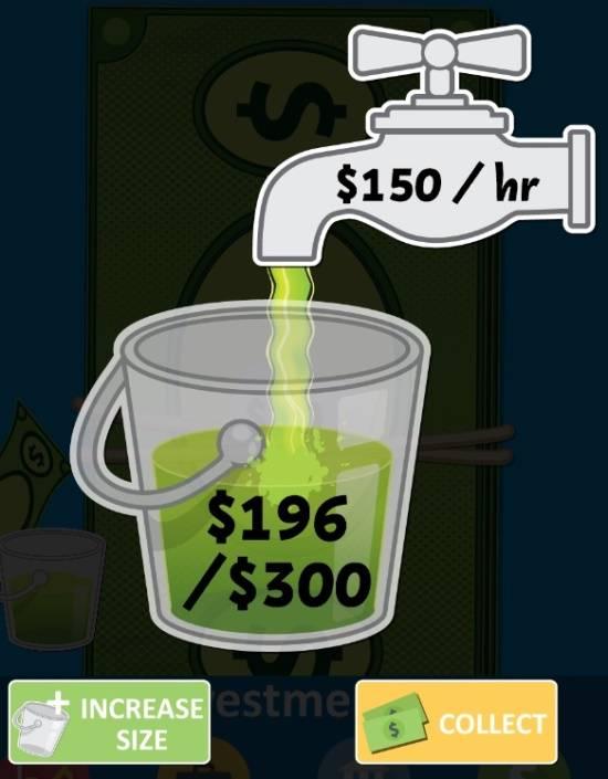 Make It Rain Money-Bucket