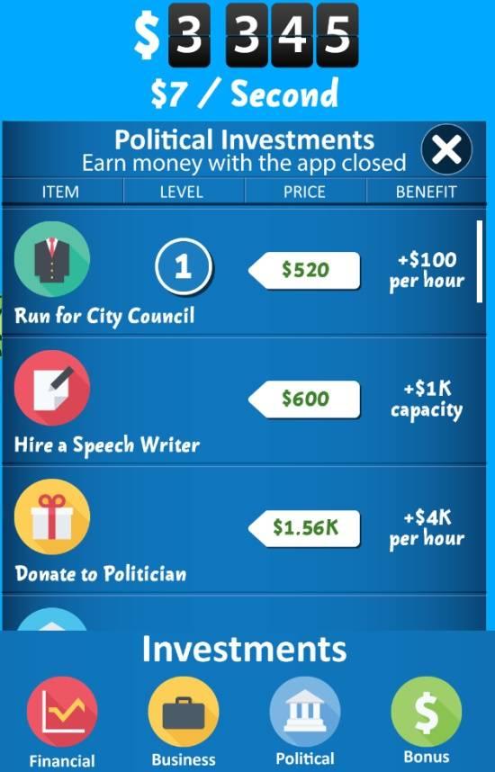 Make It Rain Money-Political
