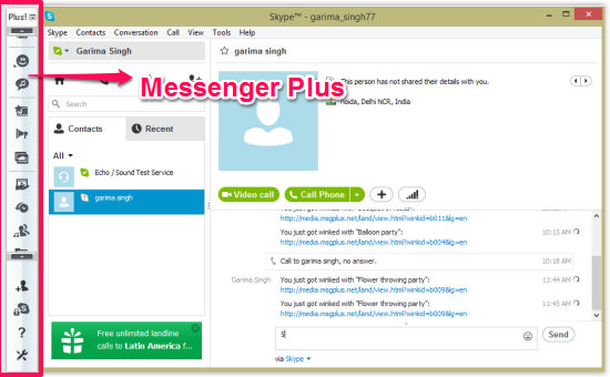 Messenger Plus-Overview