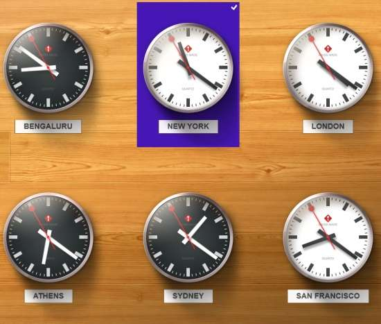Night Stand HD 2-World Clock