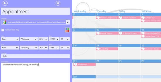 OneCalendar-Add events