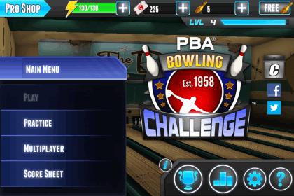 PBA Game Homepage