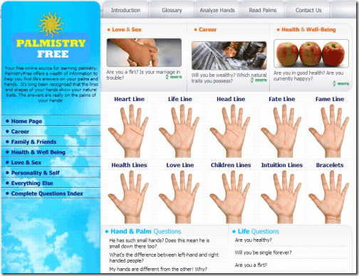 Palmistry Free