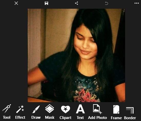 PicsArt-Editing Options