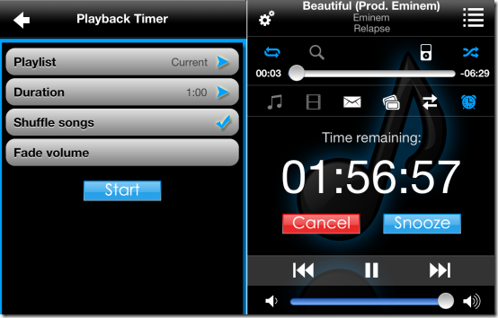 Playback Timer