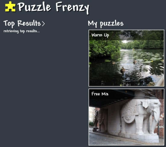 Puzzle Frenzy-Home