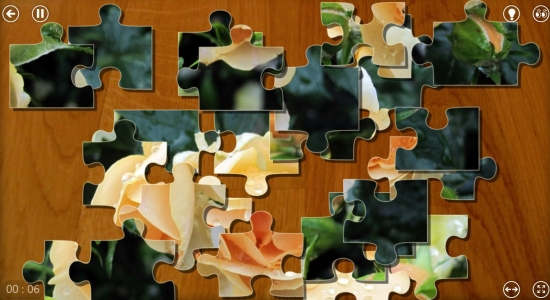 Puzzle Frenzy-Puzzle board