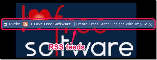RSS Ticker - Desktop Ticker