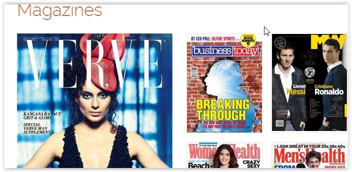 Erotic magasine read on line