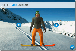 Selecting Avatar