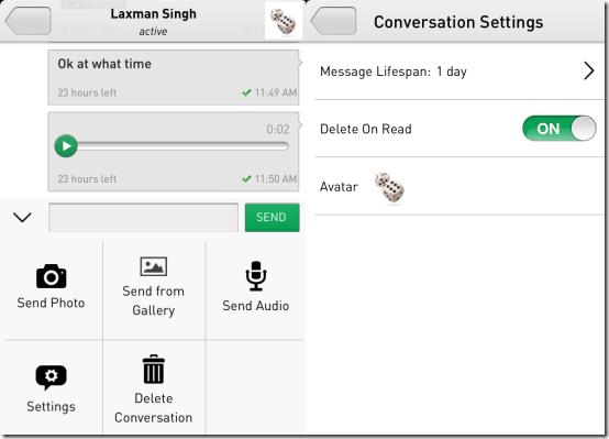 Sending Messages on TigerText