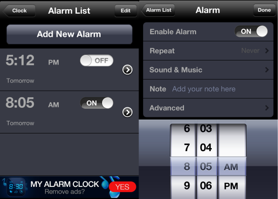 iphone sleep timer free iphone alarm clock app with sleep timer weather 12323