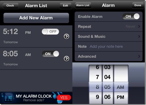 Free iPhone Alarm Clock App With Sleep Timer, Weather