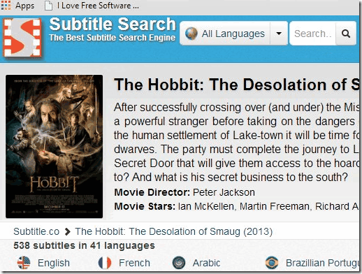 Subtitle Website - Subtitle.co