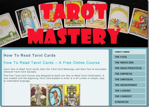 Tarot Mastery