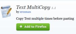 Text MultiCopy