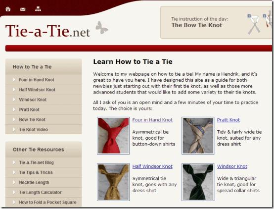 Tie-a-Tie