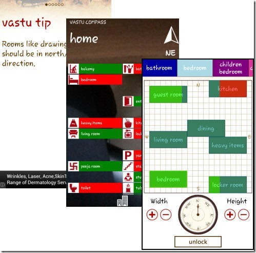 Vastu Compass - Home, Office