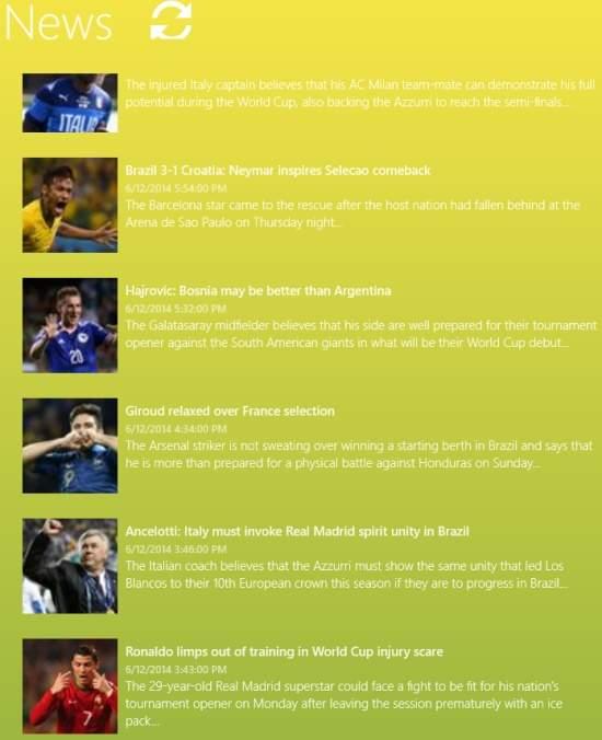 World Cup 14-News