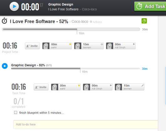 WudaTime- online time management application