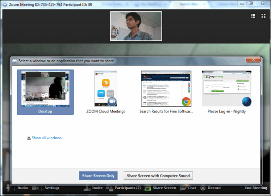 Zoom Web Conferencing Software
