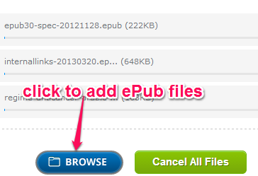 add ePub files