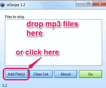 add mp3 files