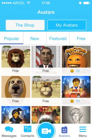 additional avatars