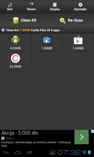 app cache cleaner apps android 4