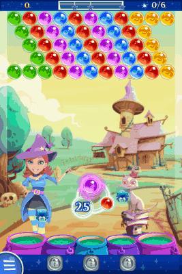 bubble witch saga game board