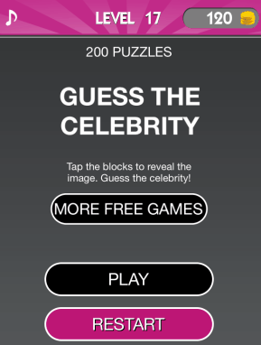 celebrity guess homepage