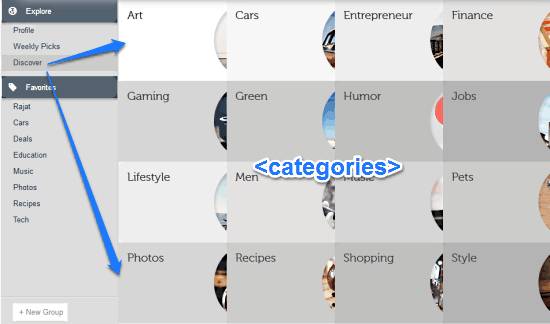 discover websites