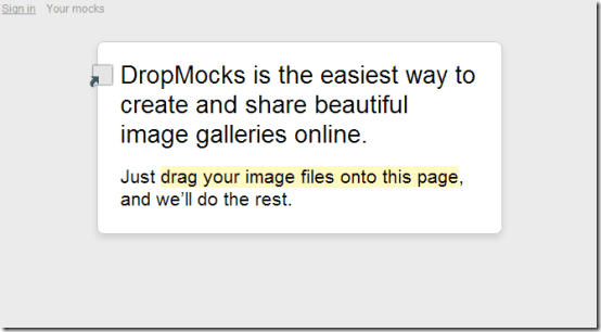 dropmocks homepage