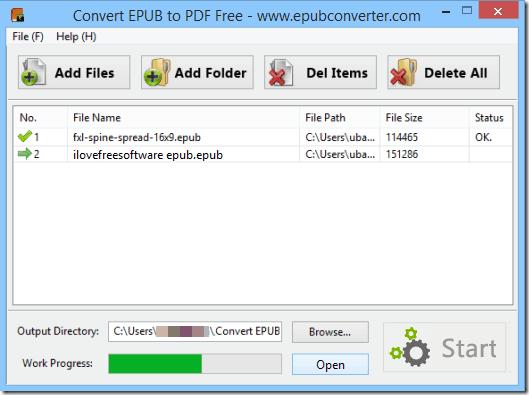 ePub to PDF Converter - Convert Epub to PDF free