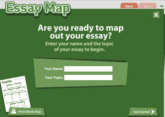 essay map header