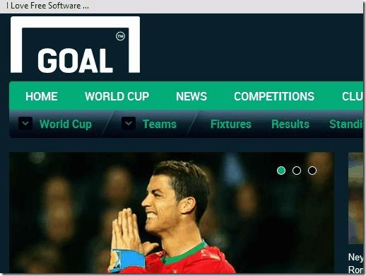 fifa world cup - Goal