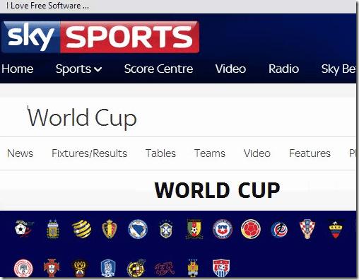 fifa world cup - SkySports