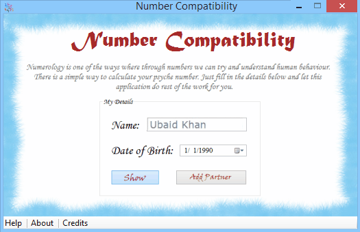 free numerology software - Number Compatibility