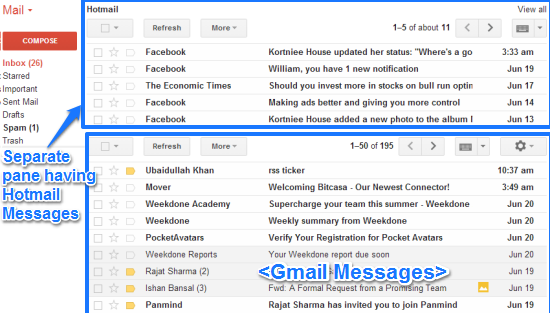 gmail multiple inboxes