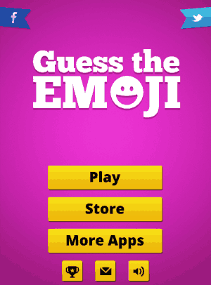 guess the emoji home page