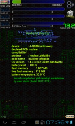 hardware specification analyzer android 4