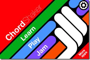 iPhone Guitar App Homepage